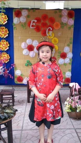 Nguyễn Mai Phương, lớp 4E Trường Tiểu học Trung Yên, Giải Ba hạng mục Phần mềm Sáng tạo