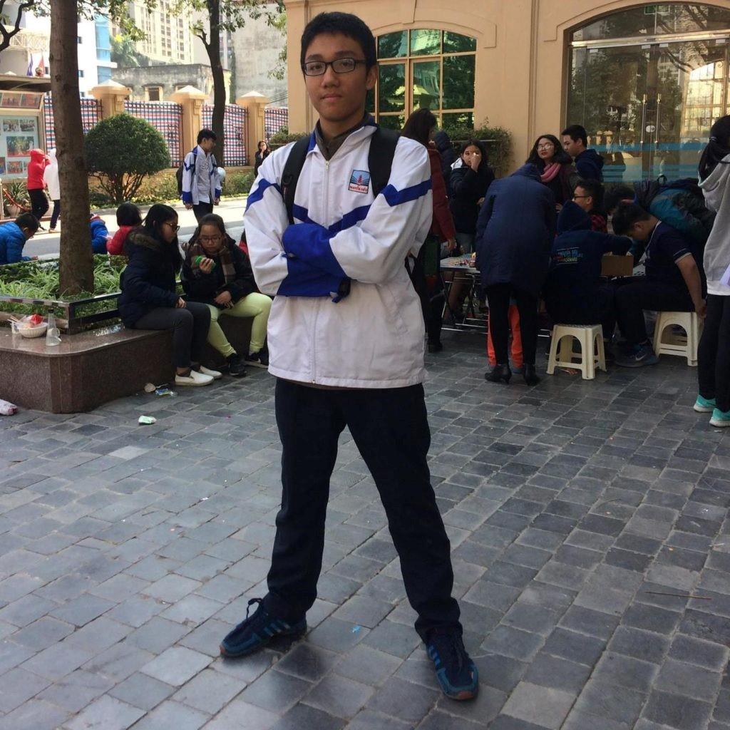 Nguyễn Ngọc Bảo, lớp CIE8C Trường THCS Nguyễn Siêu đã đạt giải Ba, Hội thi Tin học trẻ Thành phố Hà Nội, năm 2018
