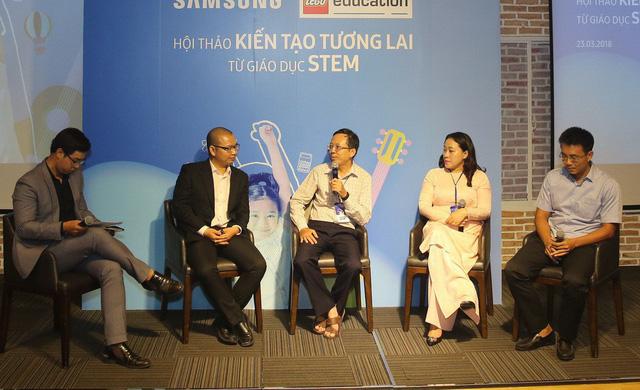 Các nhà giáo dục, quản lý tại TPHCM trao đổi về việc đưa giáo dục STEM-STEAM vào trường học