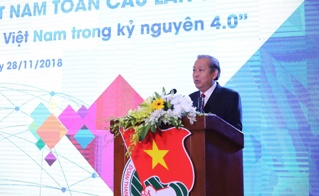 Phó Thủ tướng Thường trực Trương Hoà Bình tham dự và phát biểu tại phiên khai