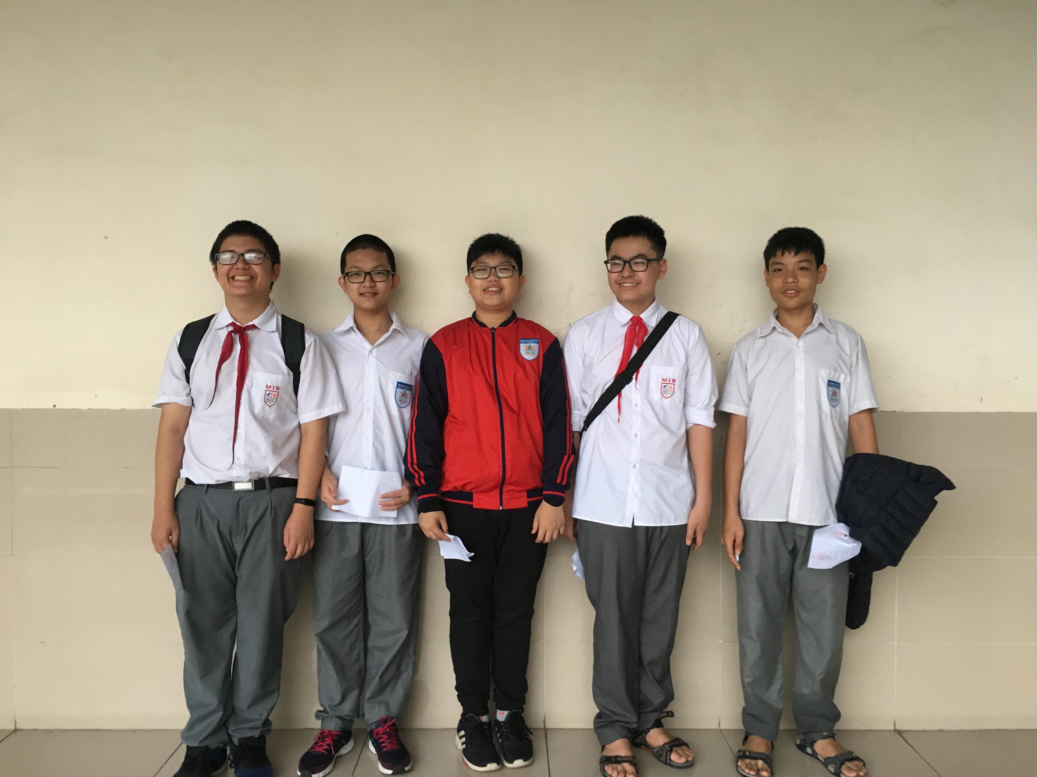 Đội tuyển Tin học Lập trình STEAM của Trường Đa Trí Tuệ MIS