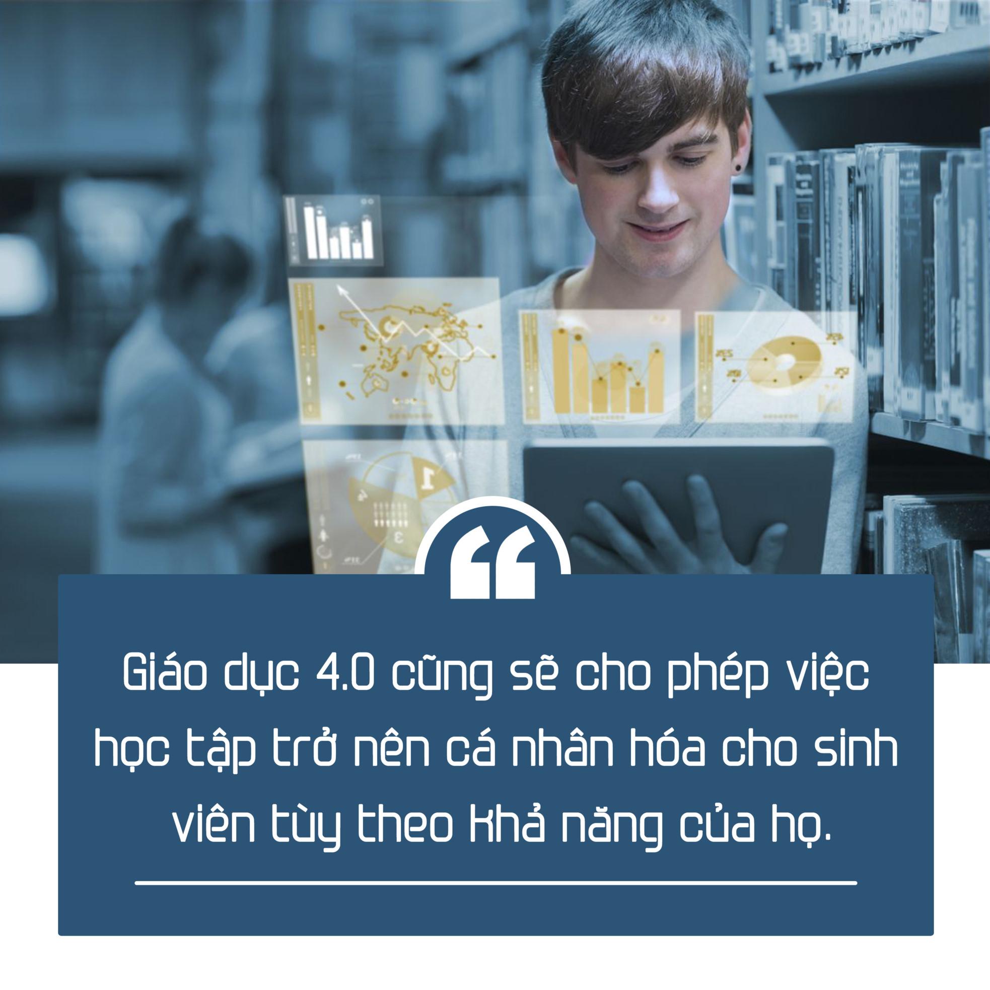 Cá nhân hoá việc học sẽ là xu thế chung của giáo dục và với công nghệ thì điều này lại vô cùng dễ dàng