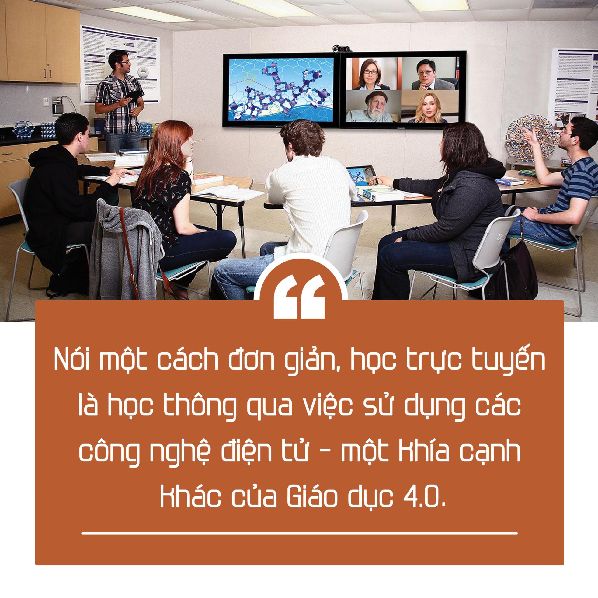 Giáo dục trực tuyến sẽ bộc lộ rõ hơn ý nghĩa thực tiễn mà bấy lâu nay chúng ta chưa nhìn thấy hết