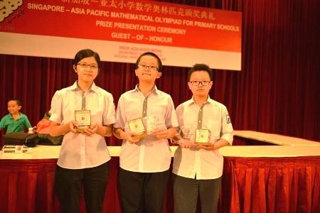 Học sinh Việt Nam gặt huy chương vàng tại APMOPS 2014